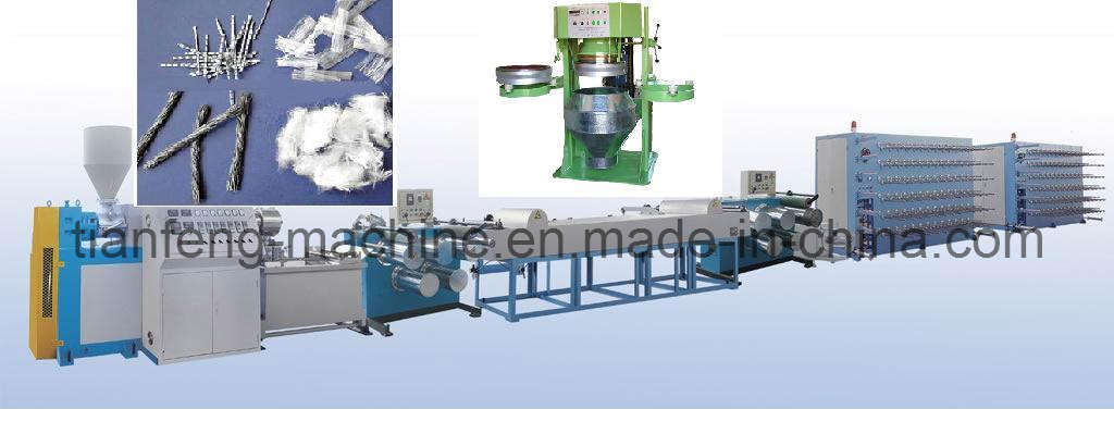 Twist PP Fibre Making Machine