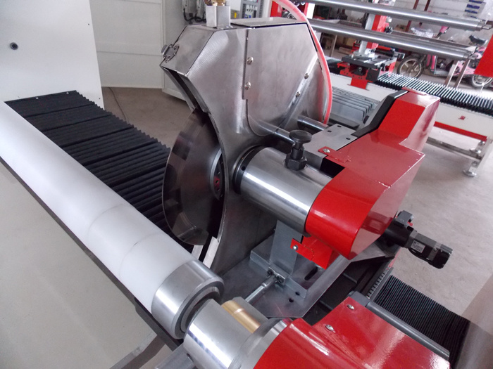 Single Shaft Auto Tape Roll Cutting Machine (XMY001)