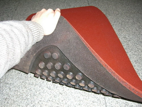 Rubber Wear Pad for Swing