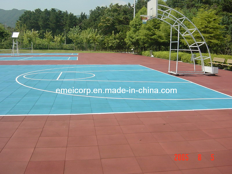 Safety Rubber Flooring for Playground (EN1177 Certificated)