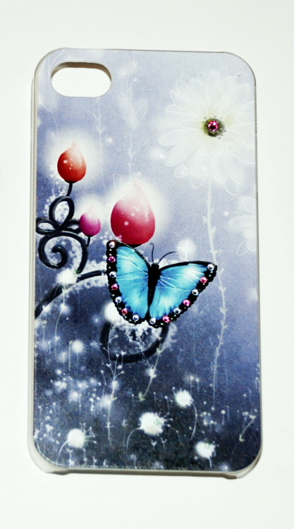 Crystal Stone Phone Case for iPhone 4/4s/5/5s (GC-Z005)