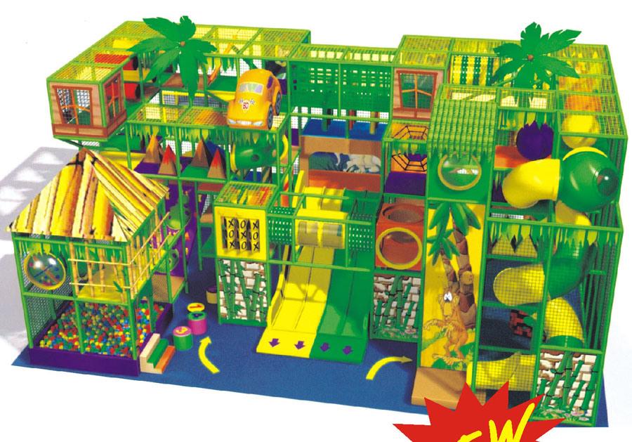 Children Indoor Playground (HAP-13901)