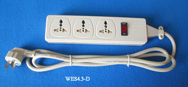 Extension Cord --Socket, Plug (WES4.3-D105)