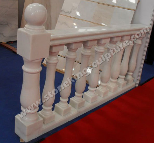Hand Carved Marble Stone Baluster (sk-3382)