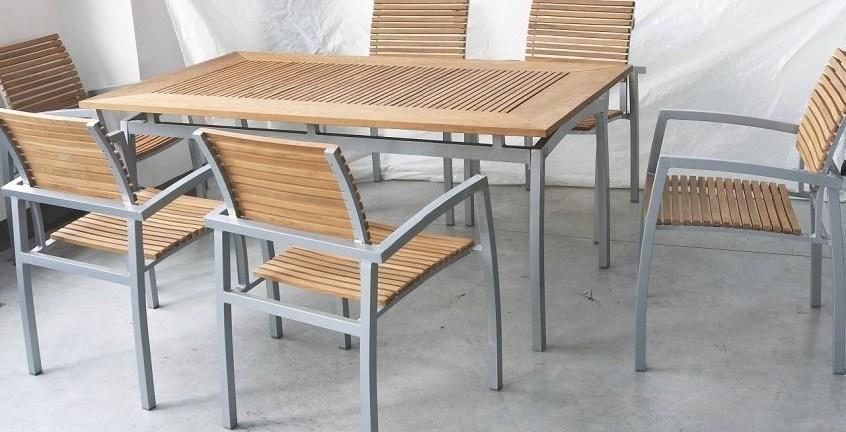 Dining Table Teak Dining Table Hong Kong : Aluminium Teak Armchair Table from choicediningtable.blogspot.com size 846 x 432 jpeg 94kB