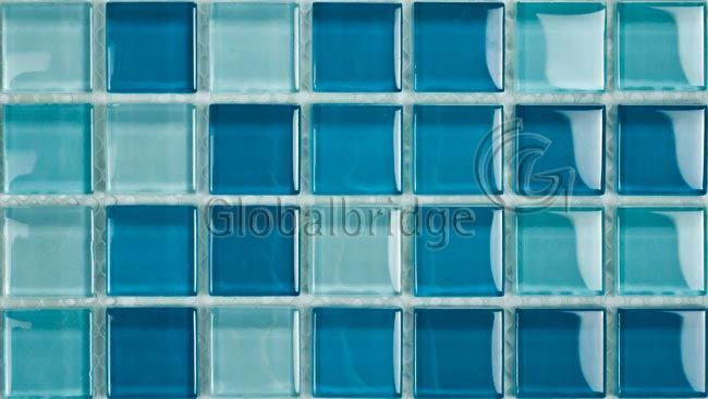 Crystal Glass Mosaic Tile - Swimming Pool / Bathroom / Kitchen
