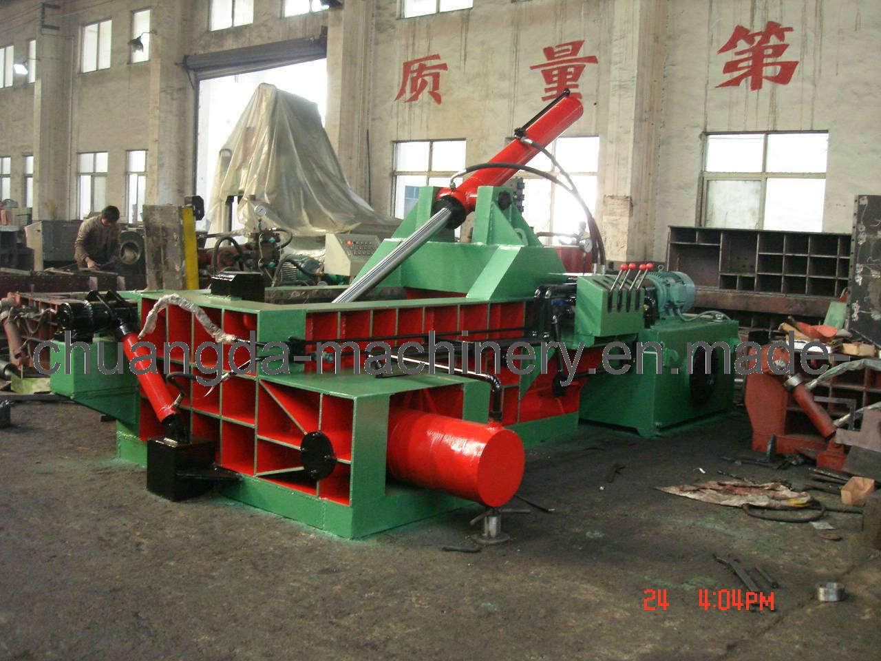 Manual Oation Perscrap Waste Metal Baler Yd1600A