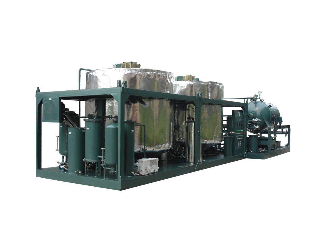 China Used Motor Oil Regeneration And Recycling System