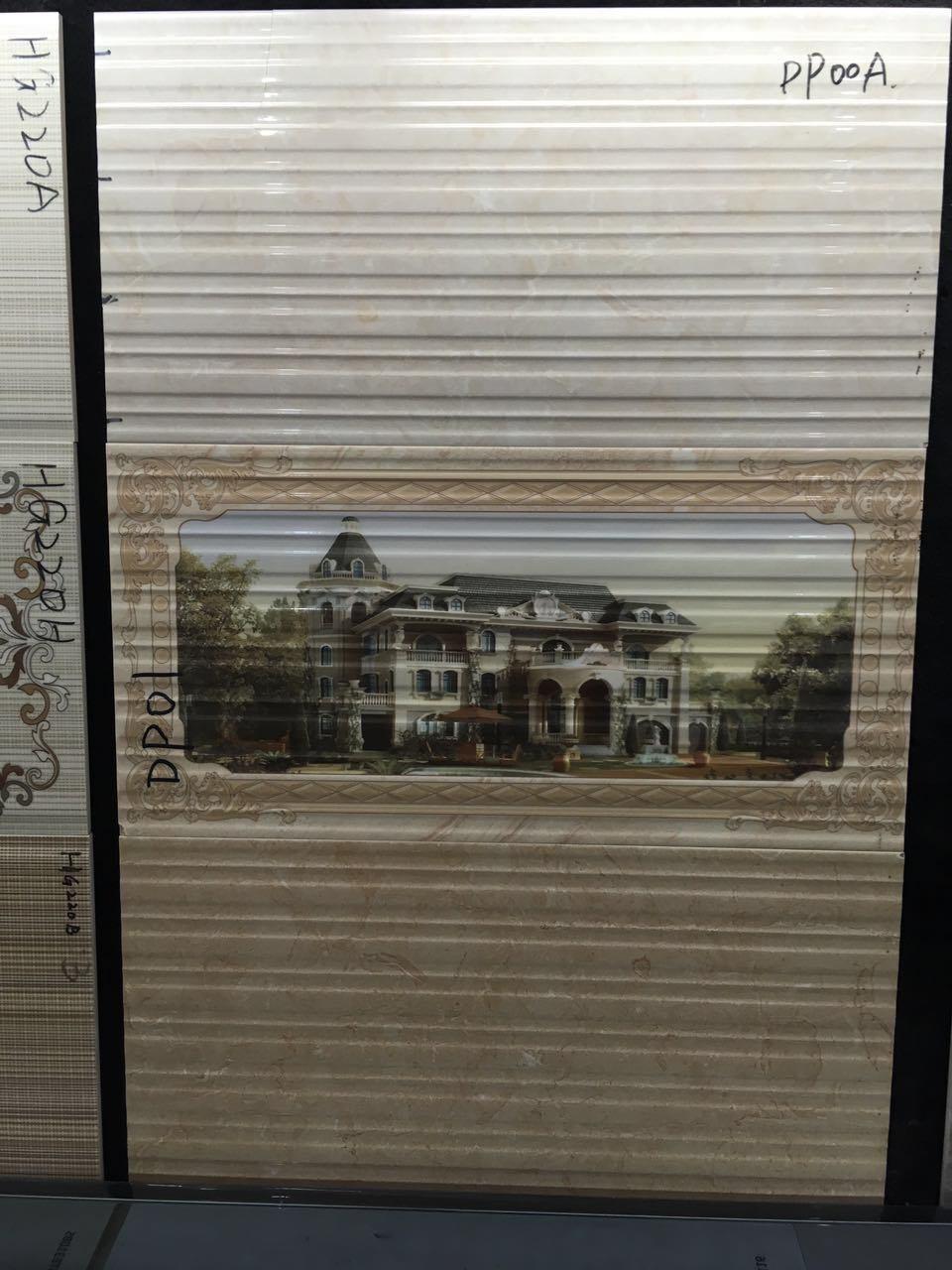 250*400mm Glazed Tile Ceramic Kitchen Designs Non Water Proof