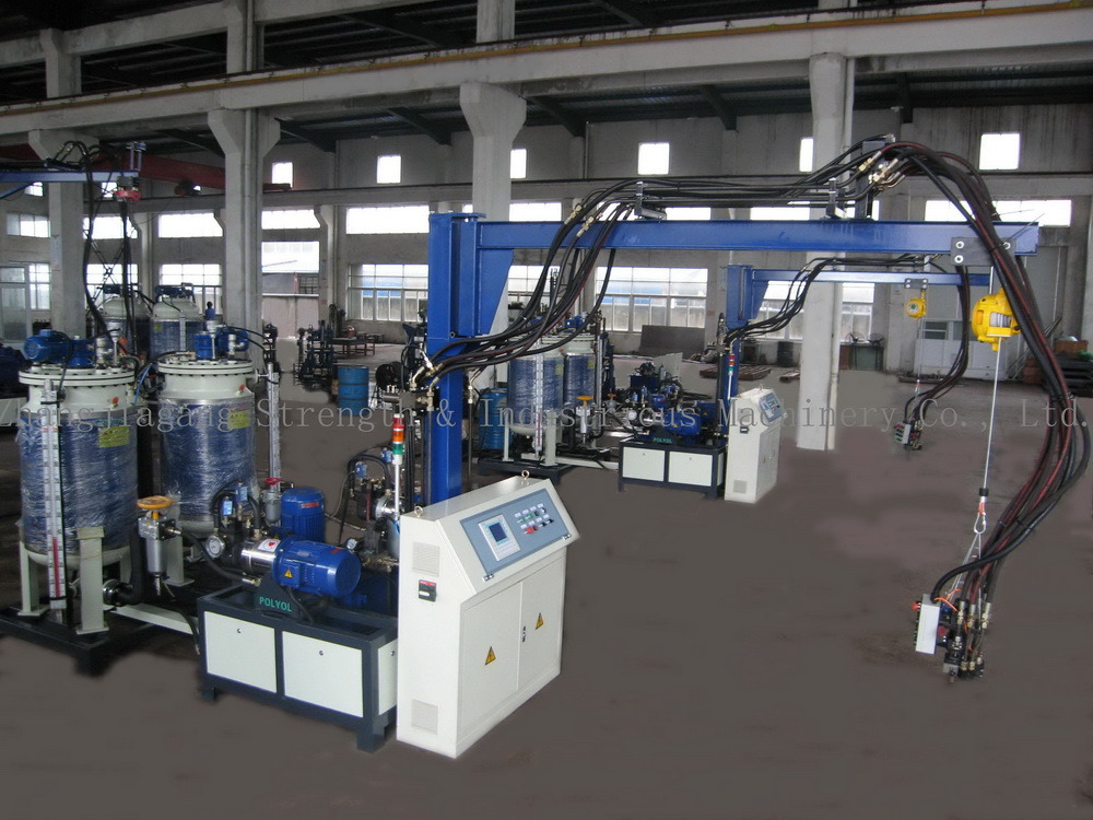 Automatic High Pressure Foaming Machine