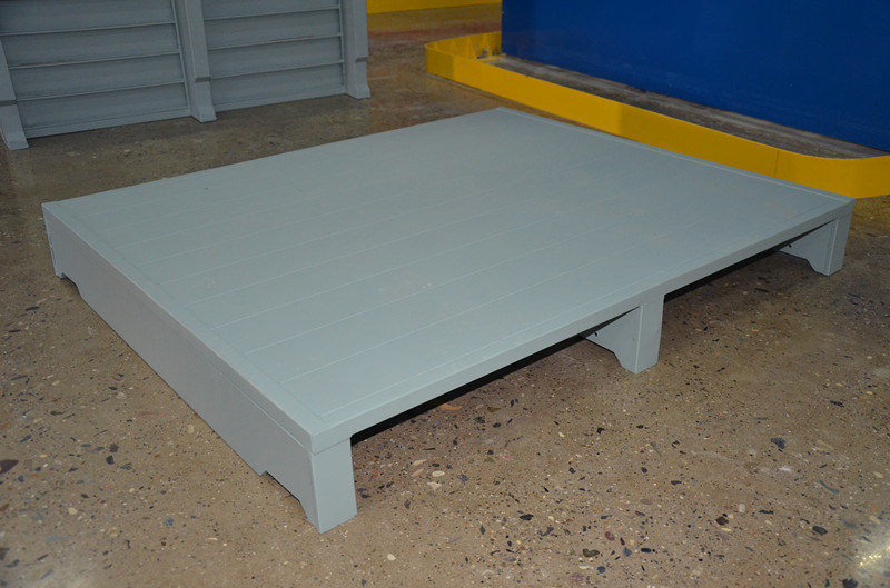 Customized Single Side Heavy Duty Metal Pallet