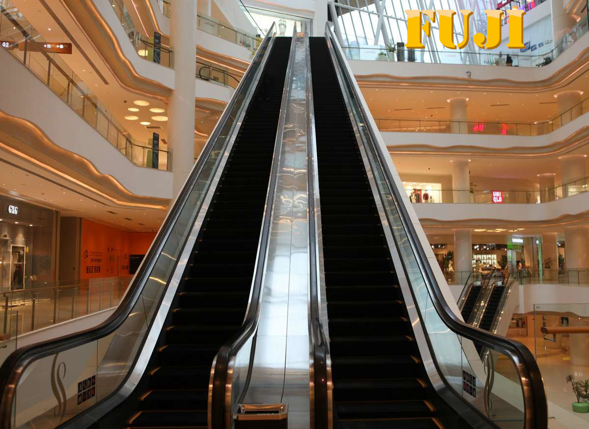 FUJI Indoor Escalator with 30 Degree 1000mm Step Width