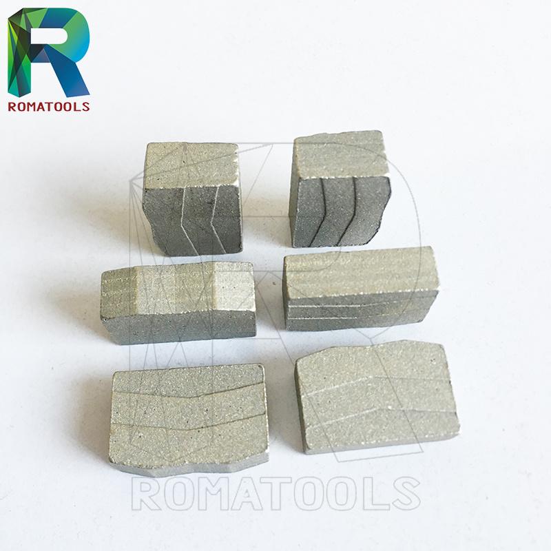 Diamond Segments for Hard Stone Granite Marble Block Cutting
