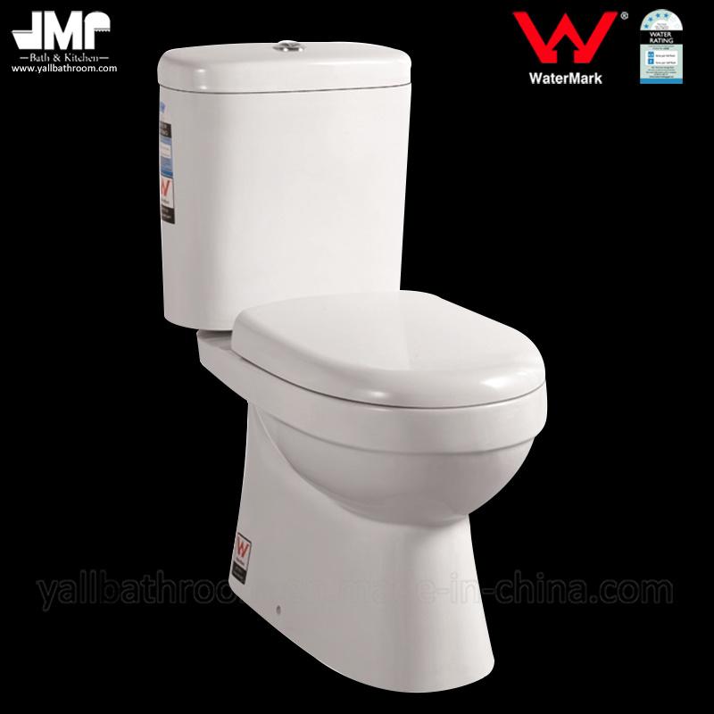 8002 Australian Standard Sanitary Ware Watermark Washdown Two Piece Ceramic Toilet