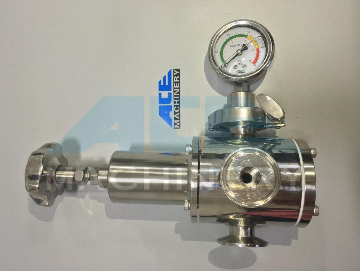 Stainless Steel Aspetic Safety Relief Valve (ACE-AQF-3N)