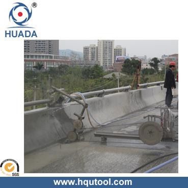 Diamond Wire Saw for Concrete, Reinforce Concrete Cutting