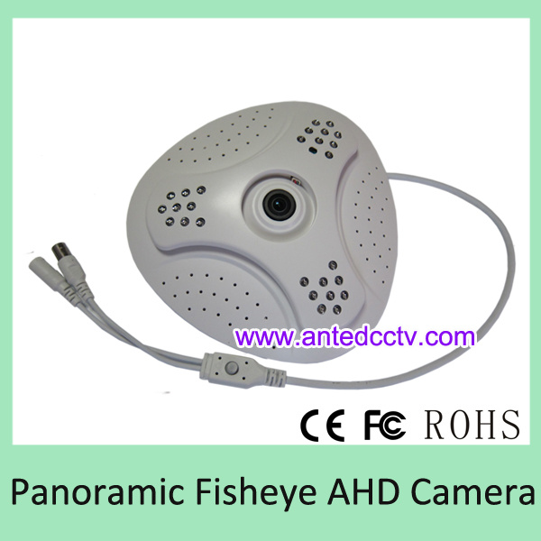 Fisheye Ahd Camera with 360 Degree Panoramic Angle View & 1.0MP 2.0MP 2.5MP