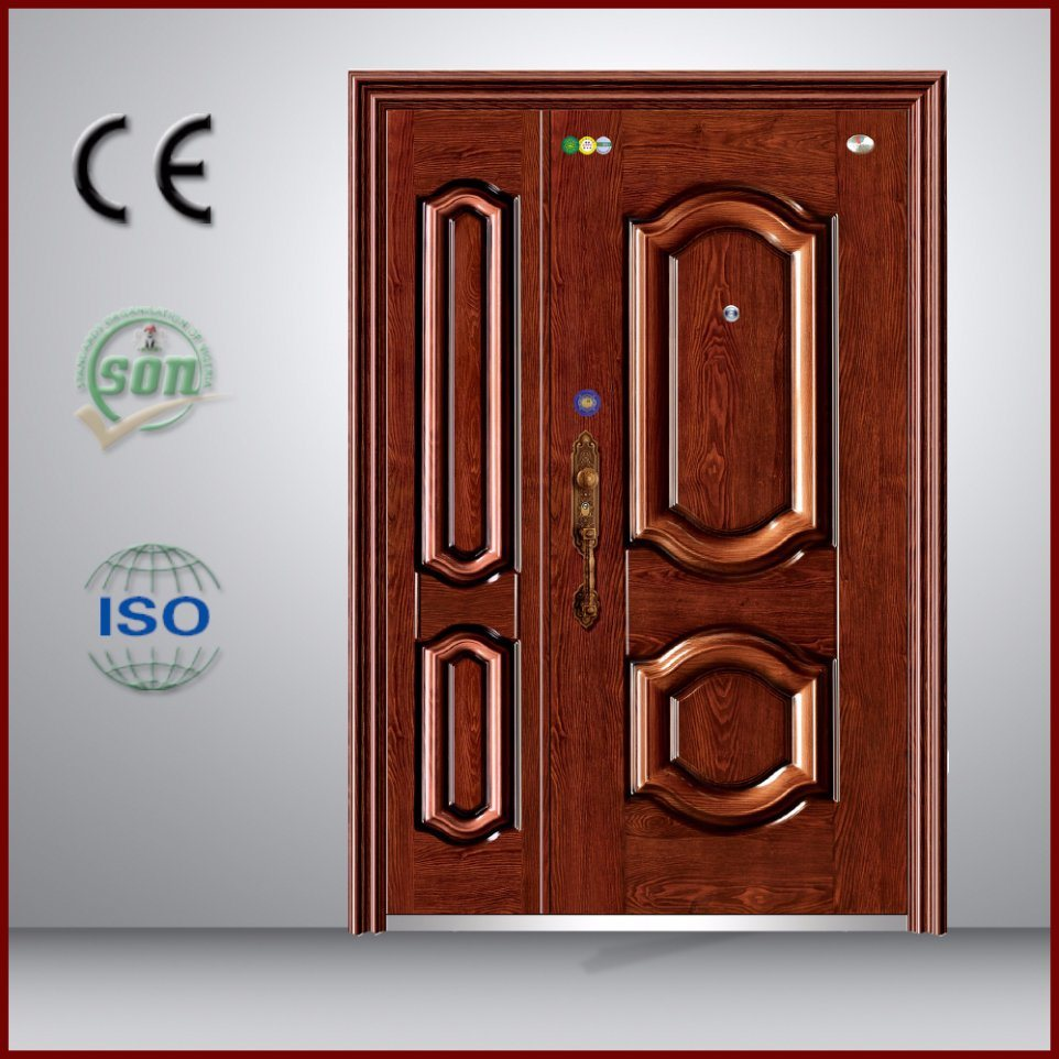 High Quality Iron Door with Sun Proof