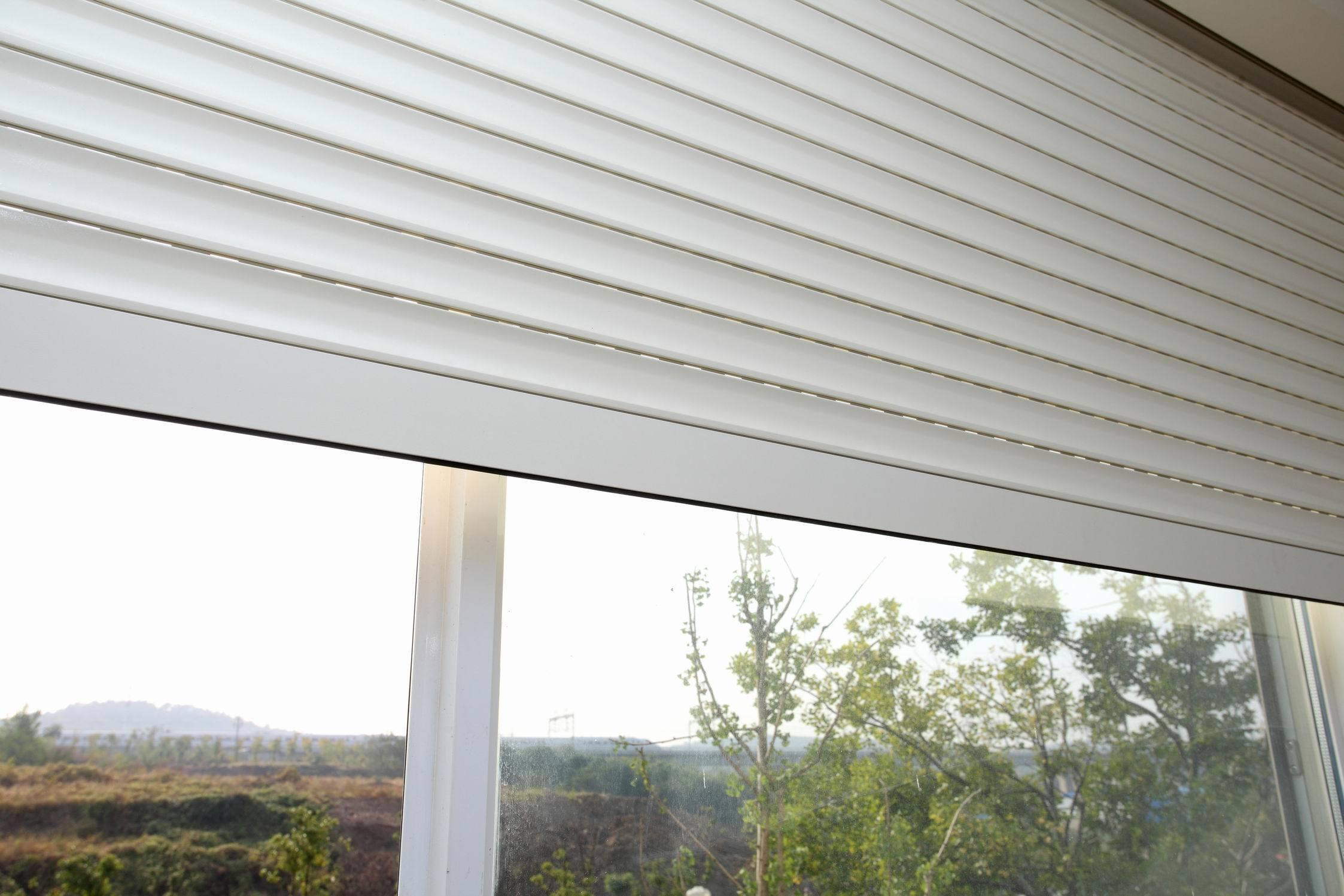 China aluminium interior security shutters china window shutter roller shutter window for Interior window security shutters