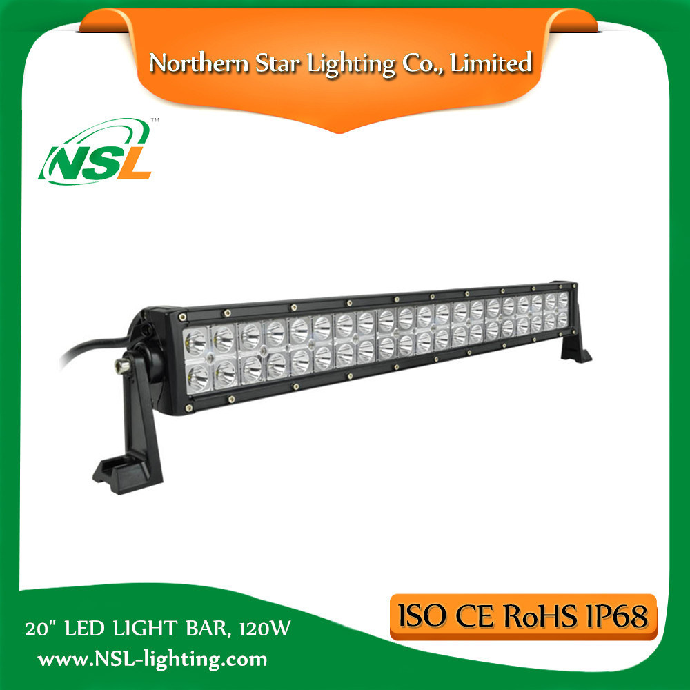 Offroad 4X4 CREE LED Light Bar for Trucks 20 Inch 120W ATV Truck off Road Driving 3 Years Warranty