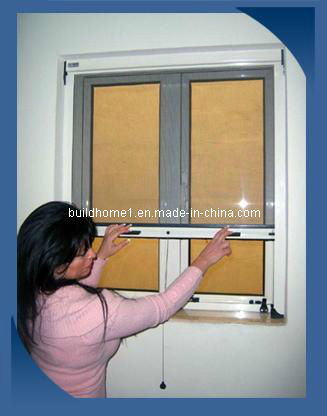 Coil Rolling up and Down Window Insect Screen