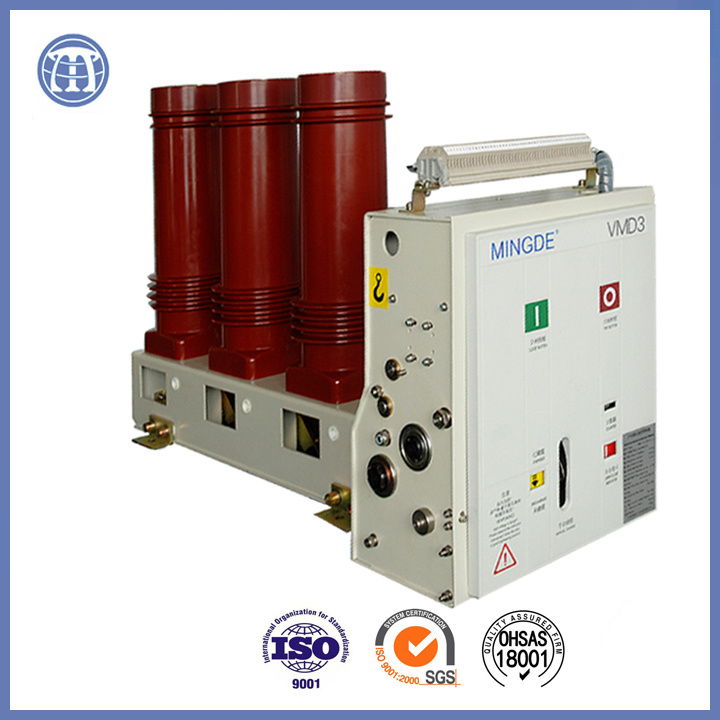 40.5kv 630A Vmd Series Indoor Hv Assembly Vacuum Circuit Breaker