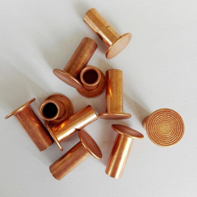 Steel Tubular Copper Rivets 8X20, Brake Lining Rivets