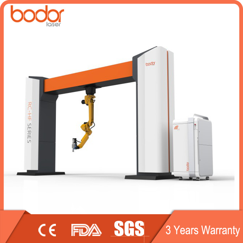 Portable 500W 3D Carbon Metal Fiber Laser Cutting Machine