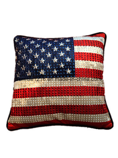 Decorative Cushion Sr-C170213-1 High Fashion Metaled Velvet Cushion