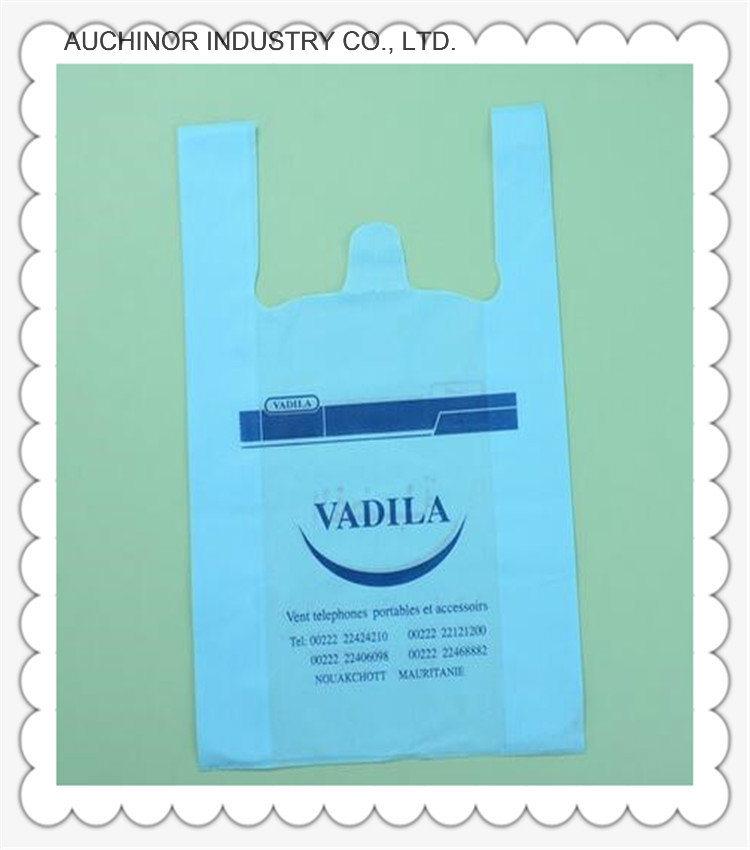 Biodegradable Vest Carrier Shopping Bag Singlet Bag T-Shirt Bag