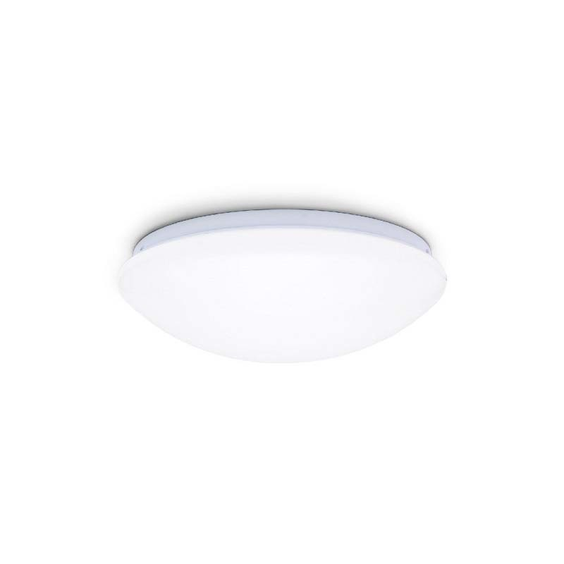 14 Inches 20W IP44 3000k Round LED Flush Mount Ceiling Light for Living Room and Bedroom