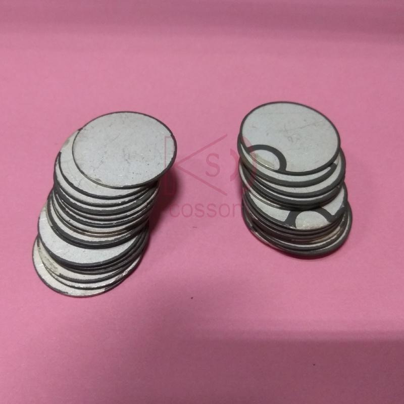 Pzt 20mm 3MHz Customized Ultrasonic Sensor Ceramic Piezo Element