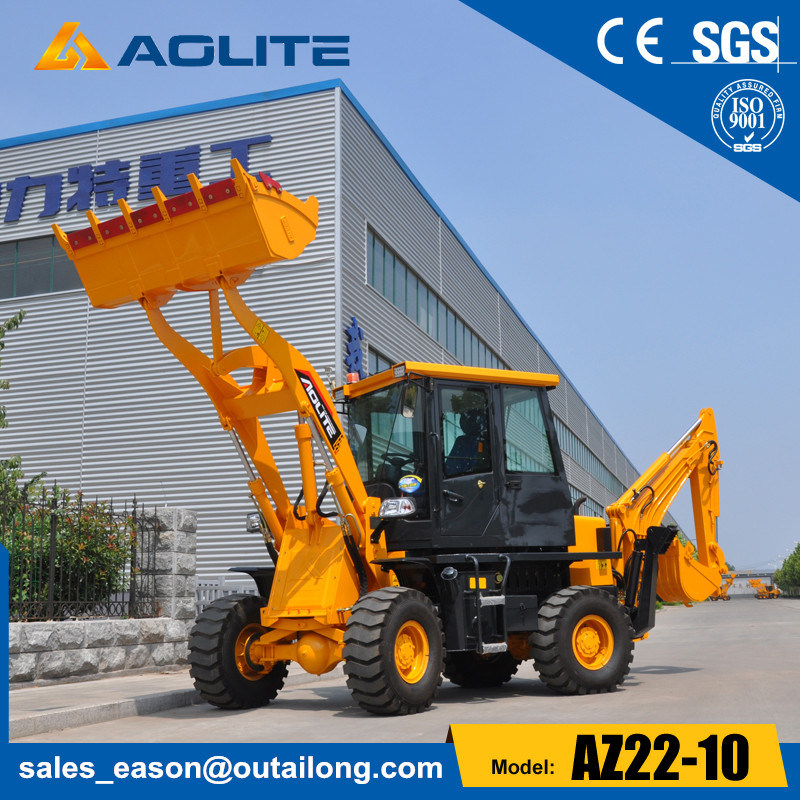 1.2t Wheel Pay Small Backhoe Loader for Sale