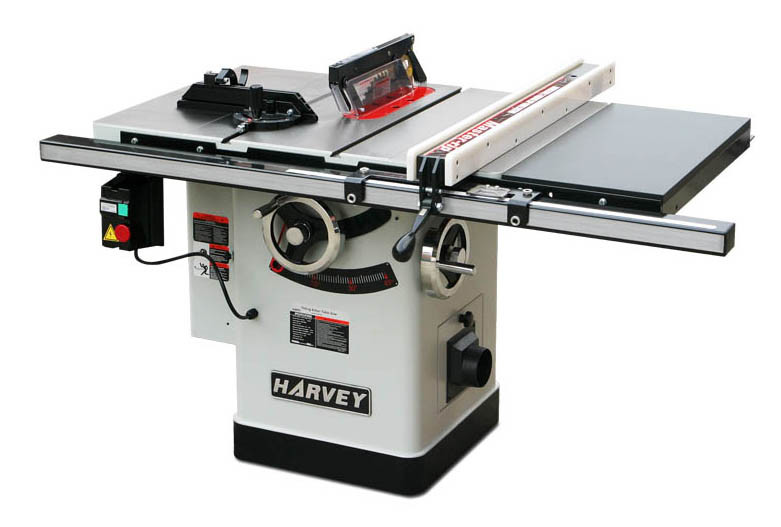 Woodworking Machine HW110LG-30 Left Tilting Arbor Riving Knife 10 Table Saw