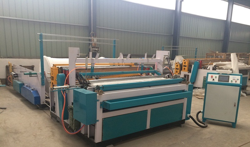 Single Face Paper Nc Slitter & Nc Cutter & Stacker