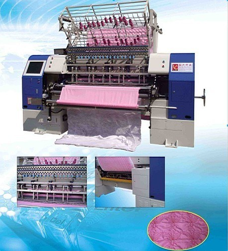 Yuxing Industrial Computerized High Speed Shuttle Multi-Needle Quilting Machine (YXS-94-3C/YXS-94-2C)