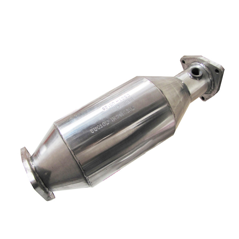 Fuel Gas Engine Exhaust Gas Purification Metal Honeycomb Catalytic Converter