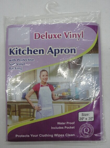 Plastic PVC Cooking Kitchen Apron
