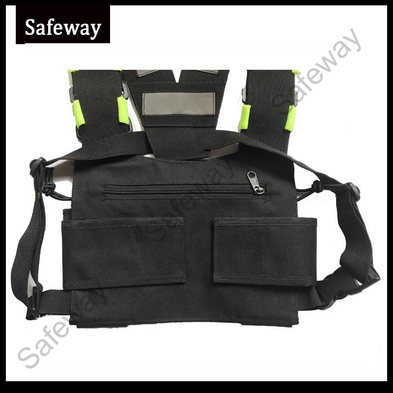 New Two Way Radio Backpack Bag for Baofeng Kenwood