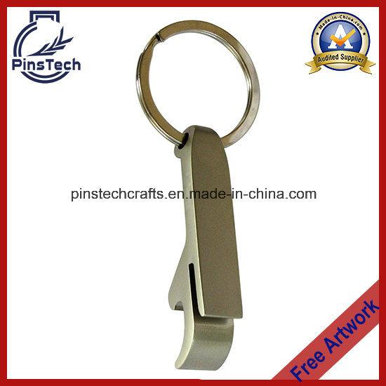 Die Cast Bottle Opener Key Ring with Laser or Silk Screen Logo