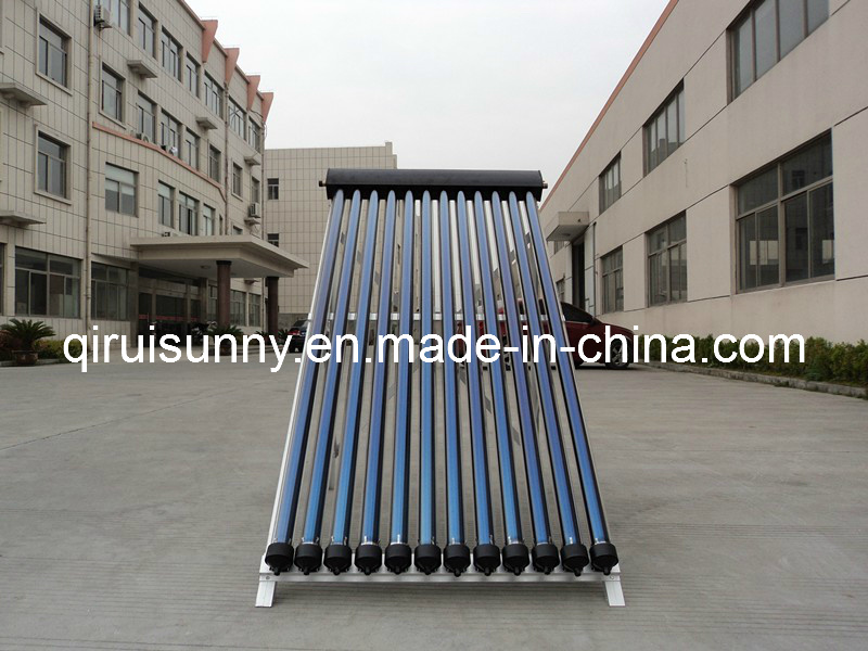 High Efficiencyheat Pipe Solar Thermal Collector with Solar Keymark