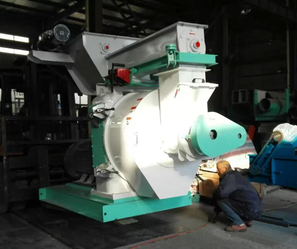 Biomass Ring Die Wood Pellet Machine