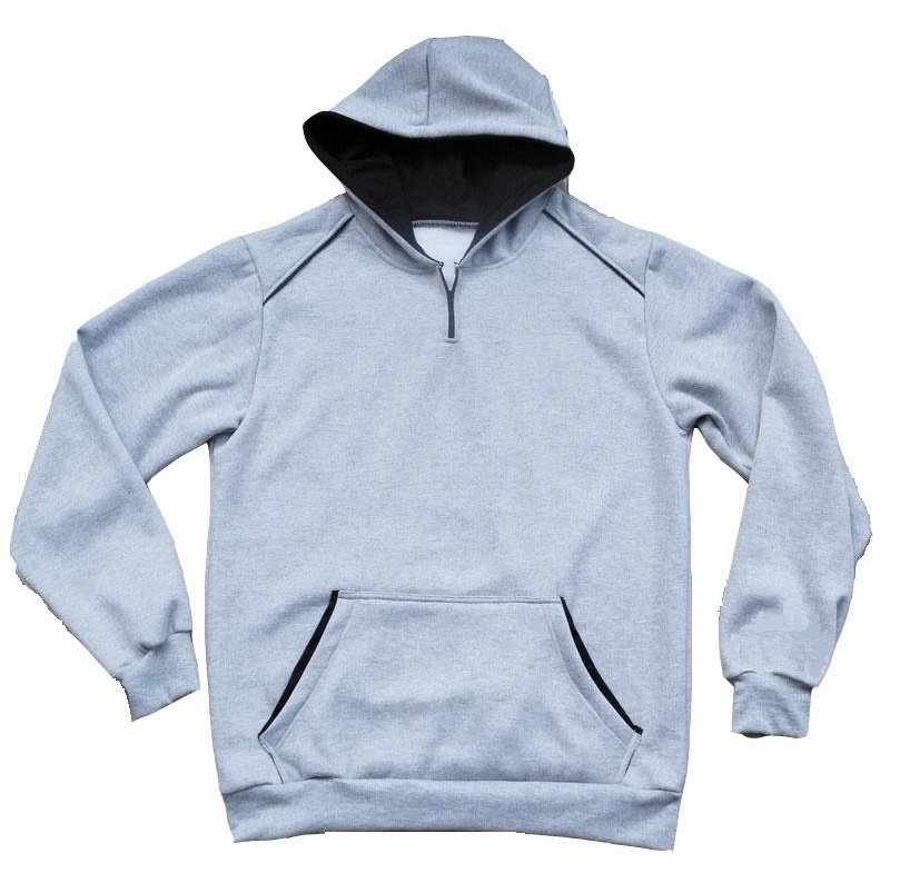 Custom Design Fashion Hooded Sweatshirt with Piping