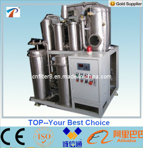 Stainless Steel Phosphate Ester Fire-Resistant Oil Purifier (TYF)
