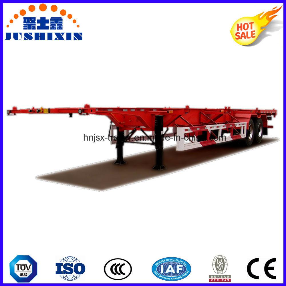 2 Axle/3 Axle 40feet Skeleton/Skeletal Container/Utility Cargo Truck Semi Trailer