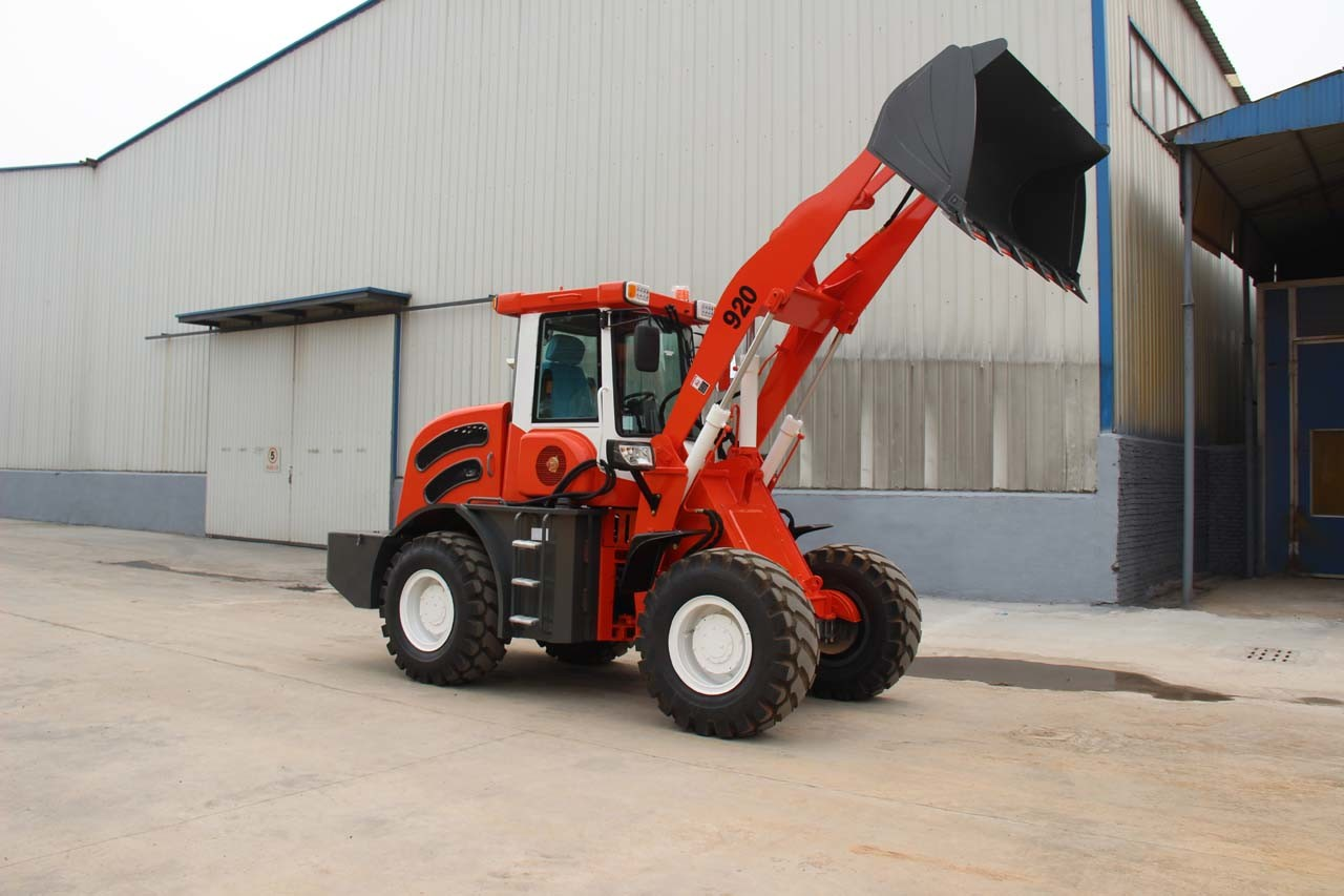 Real 2 Ton Front End Loader Sale with Pallet Fork