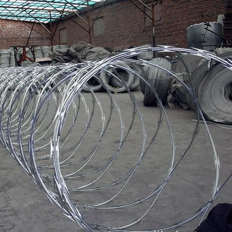 Bto-22 Hot Dipped Galvanized Military Concertina Razor Wire