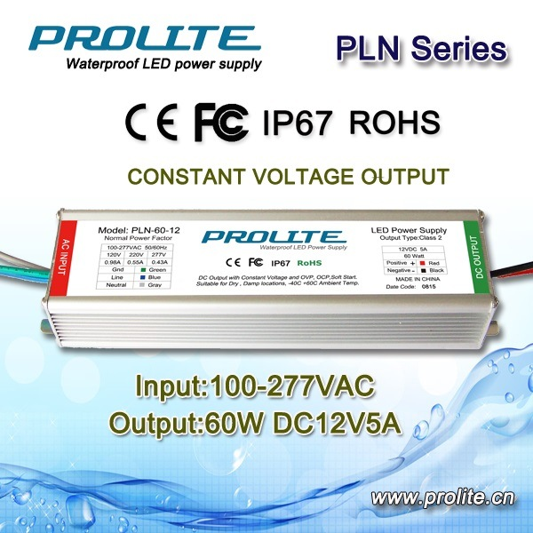 LED Power Supply Pln-60W