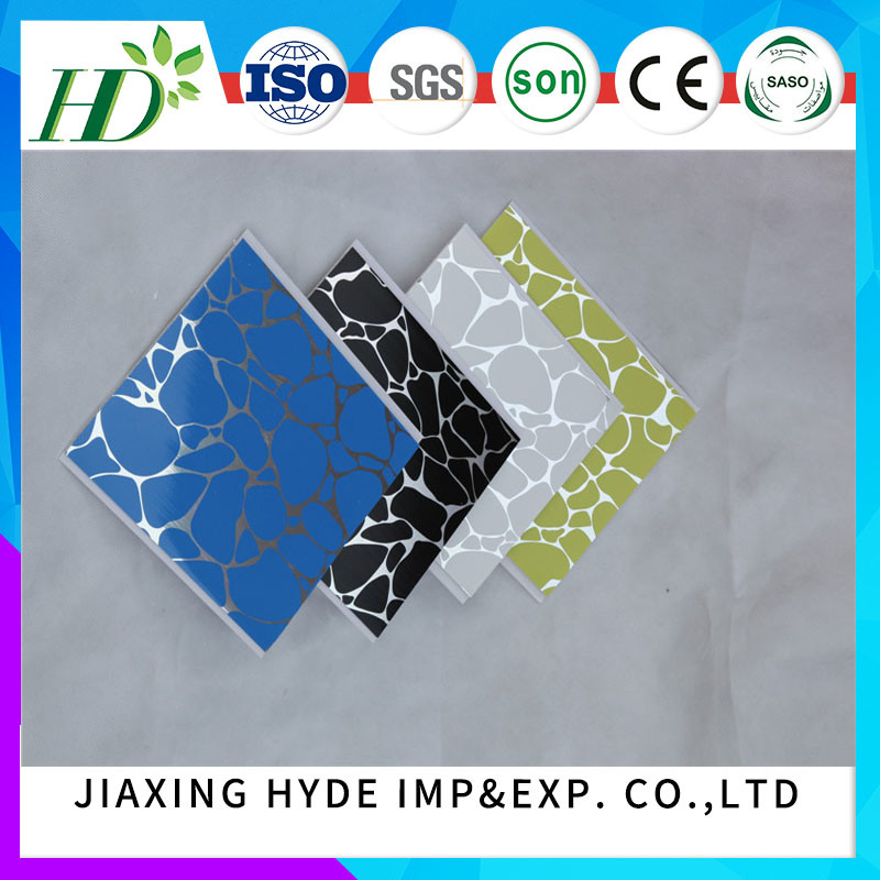 Hot-Stamping PVC Ceiling Panel Wall Panel PVC Panelling