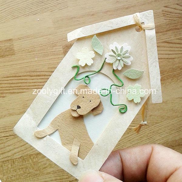 Personalized Decorative Dog House Shape DIY Paper Craft